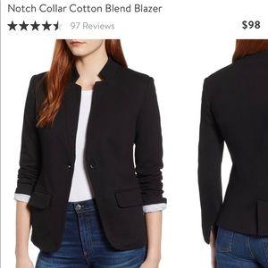 Gibson Notch Collar Cotton Bend Blazer